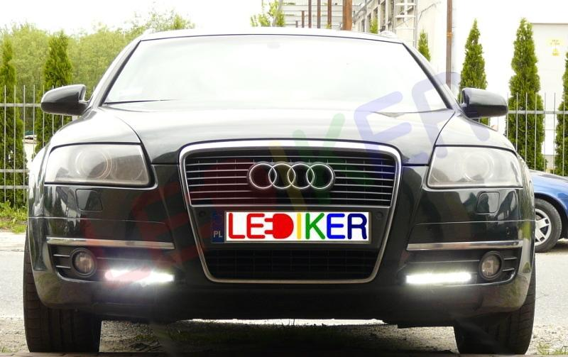 Audi A6 C6 światła Dzienne Nssc Drl 523hp